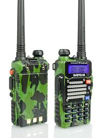 Baofeng Green/Camo BF-F9 V2+ 8Watt Tri-Power   Dual-Band 136