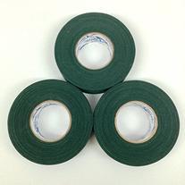 Green Cloth Ice Hockey Tape - 3 Rolls