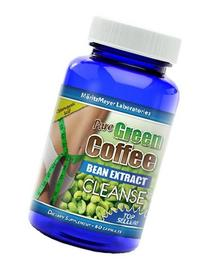 Pure Green Coffee Bean Extract Cleanse 60 capsules 1 Bottle