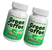 Eden Pond Green Coffee Supplement, 800 mg, 120 Capsules, 2