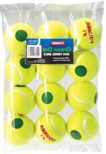 Tourna Green Dot Tennis Balls