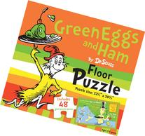Green Eggs and Ham by Dr. Seuss Floor Puzzle: Includes 48