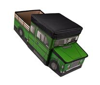 Green Farm Truck Collapsible Toy Storage Organizer with