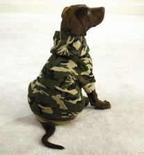 GREEN - XX-LARGE - Fashionable, Warm Camo Fleece Hoodies