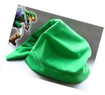 Green Legend of Zelda Link Hat Cap Anime Game Cosplay