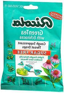 Ricola Green Tea with Echinacea Sugar Free 19 Drops