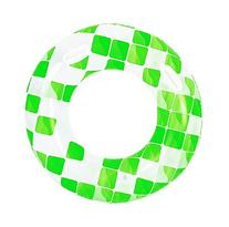 """47"""" Green and White Fashion Mosaic Inflatable Swimming Pool"""