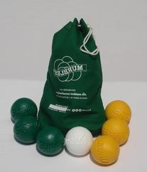 Murbles standard green & yellow small family set