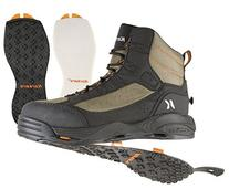 Korkers Greenback Wading Boot with Felt & Kling-On Soles,