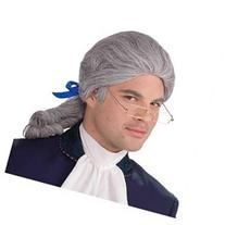 Grey Duke Wig With Bow Adult