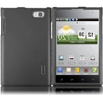 Grey Rubberized Snap on Protective Cover Case for LG