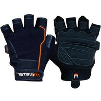 Meister Pro Grip Fit Weight Lifting Gloves w/ Amara Leather