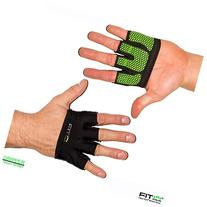The Gripper Fitness Weight Lifting Gloves - Large - Neon