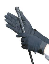 SSG Gripper Riding Gloves Black 6/S