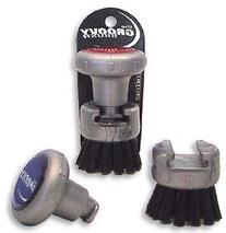 The Groovy Brush Attach To Golf Towel Clean Clubface