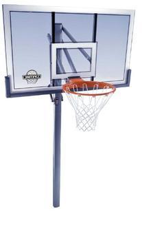 Lifetime 78888 In-Ground Power Lift Backboard Basketball