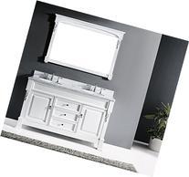 Virtu USA GS-4060-WMSQ-WH Huntshire Single Bathroom Vanity