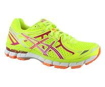 ASICS Women's GT-2000 2 Running Shoe,Flash Yellow/Hot Pink/