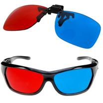 GTMax 2x Red and Cyan Glasses Fits over Most Prescription