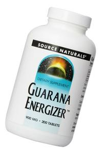 Source Naturals Guarana Energizer, Increases Stamina and