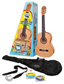 eMedia My Guitar Beginner Acoustic Guitar Pack for Kids, 3/4