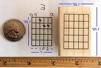 Stampola Guitar Chord Stamp  - 5 Fret
