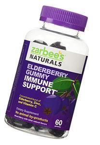 Zarbee's Naturals Elderberry Immune Support* Gummies with