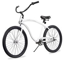 Firmstrong Bruiser Man Three Speed Beach Cruiser Bicycle, 26