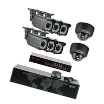 GW Security 5MP  8Ch NVR Home Security Camera System - HD