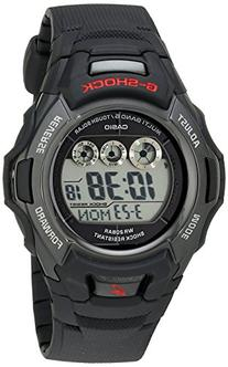 Casio Men's G-Shock GWM530A-1 Tough Solar Atomic Black Resin