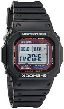 Casio Men's G-Shock GWM5610-1 Tough Solar Black Resin Sport