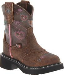 Justin Boots Gypsy with Light-Up Western Boot,Barnwood Brown