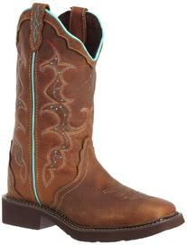 "Justin Boots Women's Gypsy Collection 12"" Soft Toe ,Tan"