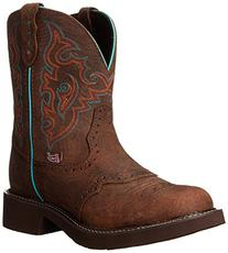"Justin Boots Women's Gypsy Collection 8"" Soft Toe,Barnwood"