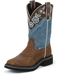 "Justin Boots Women's Gypsy Collection 11"" Soft Toe Boot,Aged"