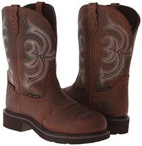 Justin Women's Gypsy Waterproof Work Boot Round Steel Toe