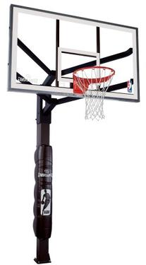 Spalding Arena View In-Ground Basketball System with 60-inch