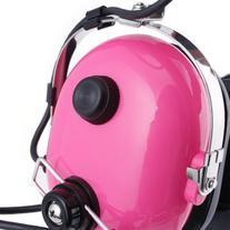 H22 Pink Racing Radios Electronics 2 Way Headset NASCAR Crew