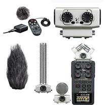 Zoom H6 Handy Recorder, Accessory Pack, Input Capsule &