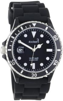 Freelook Unisex HA1433-1 Sea Diver Jelly Black with Black