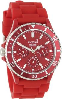 Freelook Unisex HA1434-2 Sea Diver Multi-Function Red Band