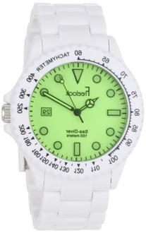 Freelook Men's HA1439-9E Sea Diver London Fog Green Dial