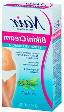 Nair Hair Remover Bikini Cream Sensitive 1.7oz