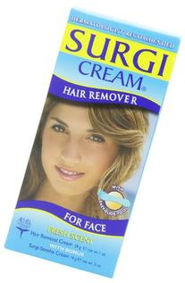 Surgi-cream Hair Remover For Face, 1-Ounce Tubes