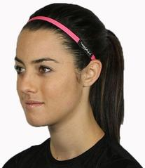 Halo Hairband Headband Sweatband Pink 0.5 inch wide