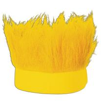 Beistle Hairy Headband, Yellow