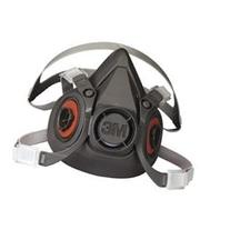 3M 6000 Series Half Facepiece Respirator - Medium Size -