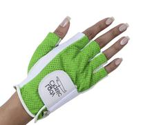 Lady Classic 1/2 Finger golf glove Green Large Left Hand