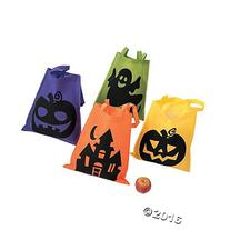 Halloween Tote Bags - 12 Per Order - Large 16 Inch -Ionic