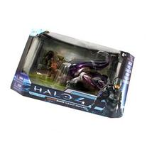 Halo 4 Diecast 7 Banshee With Elite Zealot & Imperial Grunt